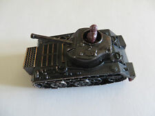 Vintage 1960's Army Tank Diecast Pencil Sharpener Collectible Made in Hong Kong