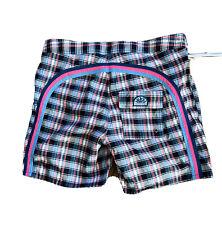 New listing Vintage SUNDEK Rainbow  Lined Swim Trunks / Board Shorts in Men's Size 34