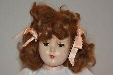 """Vtg 1947-1950s Arranbee R&B NANETTE 14"""" Walker Doll Hard Plastic"""