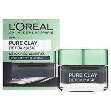 L'Oreal Pure Clay Detox Charcoal Mask 50 ml
