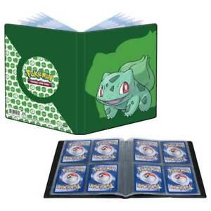 Pokemon TCG Green Bulbasaur Binder Card Portfolio Storage Album Holder US Seller