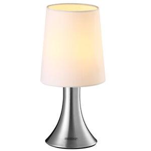 Tischlampe Nachttischlampe Tischleuchte Touch dimmbar Design Wohnzimmerlampe E14