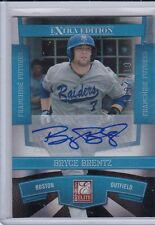 BRYCE BRENTZ 2010 DONRUSS ELITE FRANCHISE FUTURE SIGNATURES 119/719