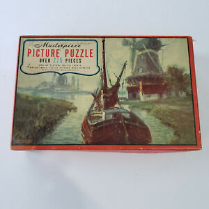Whitman Masterpiece Picture Puzzle--A Highway in the Lowlands--275 pieces--#3964