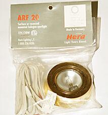 HERA ARFS20GO Puck LIGHT Under Cabinet Halogen Lighting Kitchen GOLD 20W Watt
