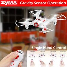 Syma X20-S 2.4G 4CH 6-aixs Gyro Gravity Sensor Pocket Drone RC Quacopter Toys AU