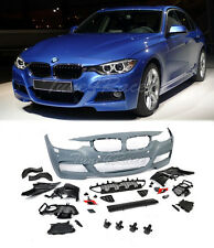 For 12-17 BMW F30 3 series M Tech Sport Front Bumper Cover No Fog Lights NO PDC