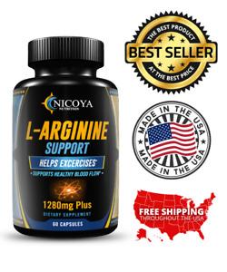 L-Arginine NO2, Natural Nitric Oxide Booster Premium Workout & Libido Enhancer