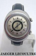 S/Steel JAEGER LeCOULTRE MEMOVOX Alarm Automatic Watch E861 Cal.K825* SERVICED