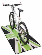 NEW EIGO TURBO TRAINER FLOOR MAT UNION JACK - CYCLE BIKE BICYCLE TRIATHLON
