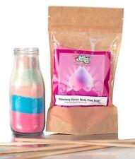 Lickleys 100 G goût Fraise Candy Floss sucre Home Cotton Candy Floss Maker
