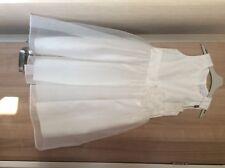 GIRLS NEXT SIGNATURE IVORY BRIDESMAID DRESS AGE 9 BNWT