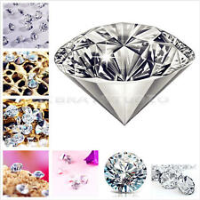 7200Pcs Mixed Wedding Table Crystals Scatter Decoration Diamond Acrylic Confetti