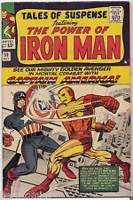 TALES of SUSPENSE #58 IRON MAN MARVEL KIRBY 1st CAP in book 2nd KRAVEN 7.5