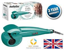 NEW BABYLISS Curl Secret c905pe CERAMICA CAPELLI STYLER CURLER auto Aqua Fashion Top