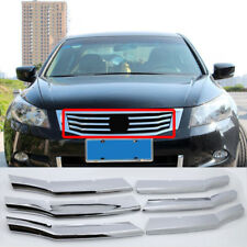 Car Front Grille Mesh Vent Radiator Cover ABS Trim 6pcs For Honda Accord 08-10
