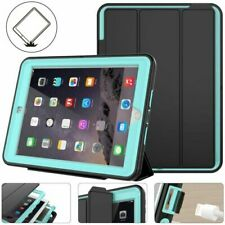 For iPad 9.7 inch 6th 5th Gen 2018 Heavy Duty Case Shockproof Hard Leather Cover