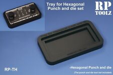 RP Toolz Tray for Hexagonal Punch and Die Set - RPTTH-06
