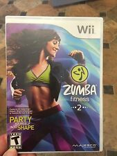 Zumba Fitness 2 (Nintendo Wii, 2011) Game only ,  NO Belt  *Sealed*