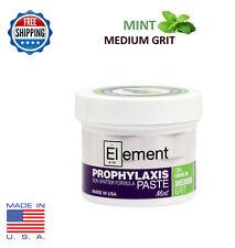 MEDIUM GRIT MINT Element Prophy Paste Dental Prophylaxis 100g (3.5 oz) Jar