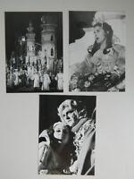 3 foto paño Gnaiger ópera Oberon Festival Bregenz 1977