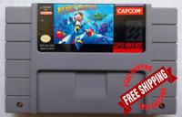 Mega Man X Super Nintendo  SNES USA Version FREE SHIPPING