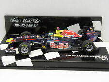 MINICHAMPS 410110001 Standmodell RED BULL RACING RENAULT RB7 Vettel 2011 M.1:43