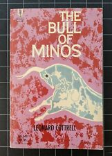 The Bull of Minos by Leonard Cottrell 1962 Universal Library Paperback Mythology