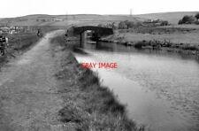PHOTO  1974 WINDY BANK BRIDGE ROCHDALE CANAL LITTLEBOROUGH LANCASHIRE THIS SHOWS