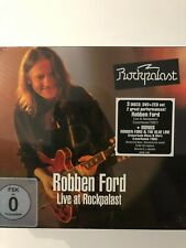 robben ford live at rockpalast 2007 dvd + 2 cd brand new sealed item.