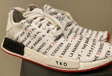 Adidas Original NMD Tokyo Japan Pack White Black Red TKO Men Size 8.5 & M Shirt