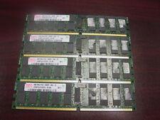 16GB 4X4GB Hynix DDR2 2Rx4 667MHz PC2-5300P ECC REG HYMP151P72CP4-Y5