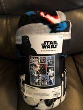 "Star Wars Classic Collage Plush Throw 50"" x 60"""