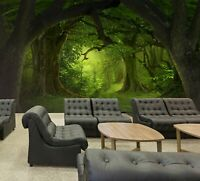 3D Forest Grass R33 Business Wallpaper Wall Mural Self-adhesive Commerce Zoe