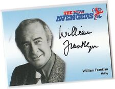 The New Avengers - N-A5 William Franklyn - McKay Autograph/Auto Card - 2006