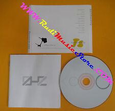 CD ZEROHERTZ Omonimo Same 2006 ue POKET PANTER PP001 (Xs9) no lp mc dvd