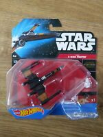 Star Wars Hot Wheels Poe's X-Wing Fighter BNIB 2015 Mattel - Free P&P