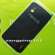 E- For LG Google Nexus 4 E960 Glass Battery Cover Back Door With Adhesive