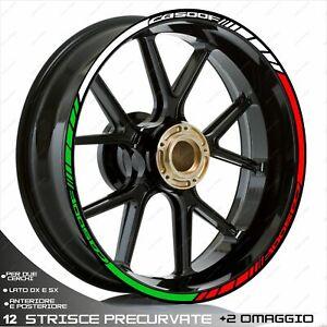 Adhésifs Roue Tricolore Compatible Honda 500 CB F 2013-2020