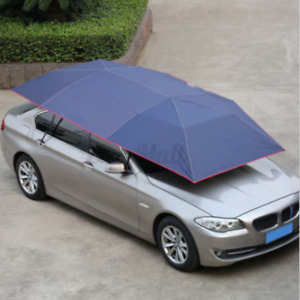 Portable Car Sun Shelter Umbrella Tent Roof Cover Extra Large UV Oxford   #