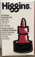 Higgins Drawing Ink Brick Red Item # 442114