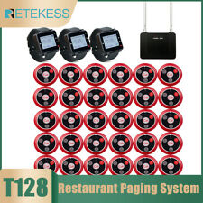 Retekess T128 Wireless Restaurant Paging Call System Watch Receiver 10call Pager