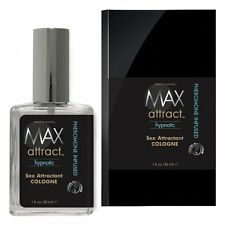 Max 4 Men Max Attract Hypnotic Sex Attractant Cologne with Pheromone Spray 1 oz