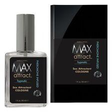 Max 4 Men Max Attract Hypnotic Sex Attractant Cologne with Pheromone Spray 1 oz