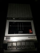 Sony Tcm-848 Vintage Portable Cassette Tape Player Recorder With Microphone Jack