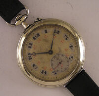 Vintage Cylindre 1900 Antique Swiss Fancy Dial Wrist Watch A+ Fully Serviced