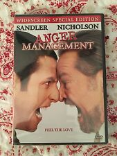 Anger Management DVD Widescreen Special Edition NEW Sealed