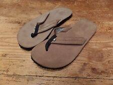 Teva Old Town Flip Flops Brown Suede 6149 Women's Size 10