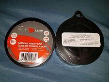 (2) NEW South Bend Sporting Goods 12lb 500yds Mono Monofilament Line M1412