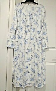 Croft and Barrow ballerina extra soft long sleeved nightgown size Large